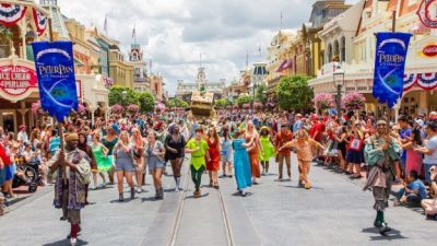 Guests Celebrate the 65th Anniversary of Disney's 'Peter Pan' at Magic Kingdom