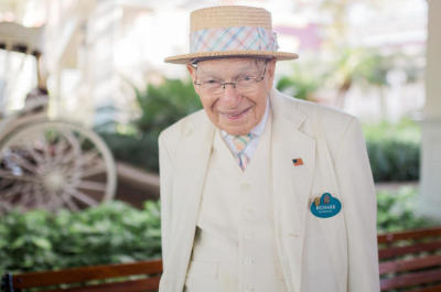 Richard Gerth, Beloved Greeter at Disney's Grand Floridian, has Passed