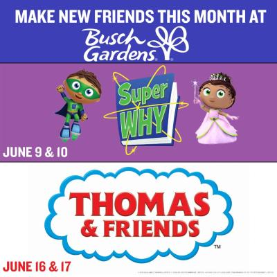 Meet Family-Favorite Television Stars Visiting Busch Gardens Tampa This Month