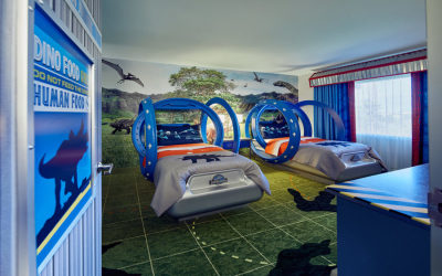 New Jurassic World Kids Suites Available at Loews Royal Pacific Resort