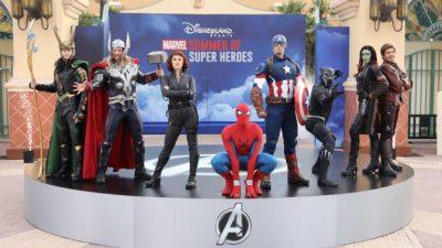Marvel Summer of Super Heroes Lands at Disneyland Paris