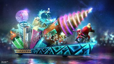 New 'Incredibles' Float Joining 'Paint the Night' Parade on June 23