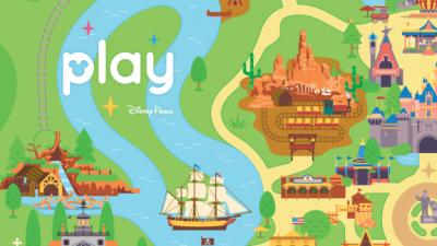 All-New Play Disney Parks App Coming to Disneyland and Walt Disney World