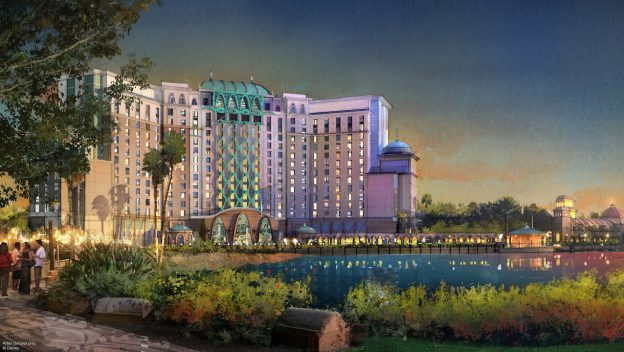 Disney's Coronado Springs Resort Tower Photo Progress