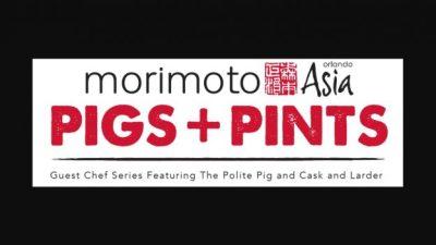Morimoto Asia 'Pigs + Pints' at Disney Springs
