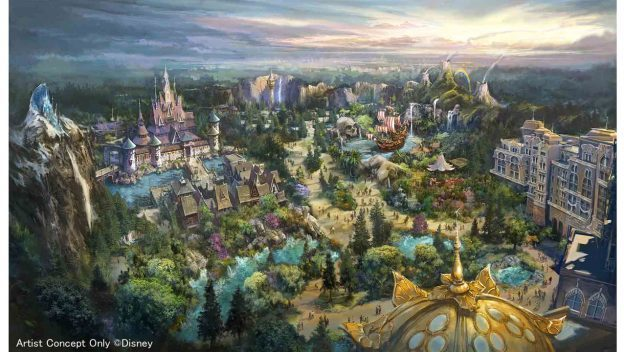 Tokyo DisneySea Expansion Brings a New Themed Port in 2022