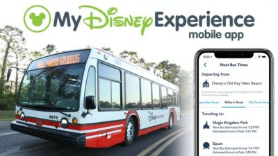 Bus Times at Walt Disney World Resort Now Available on My Disney Experience App
