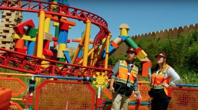 Imagineers Put the Finishing Touches on Toy Story Land