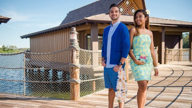 Dress as Lilo & Stitch at Disney's Polynesian Villas & Bungalows