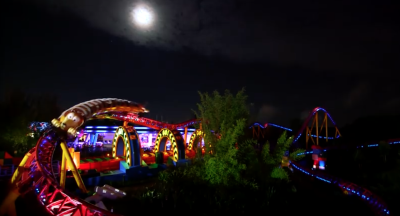 First Look at Toy Story Land at Night