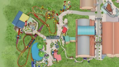 New Toy Story Land Digital Maps Online