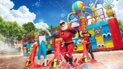 Disney·Pixar Pals Make a Big Summer Splash at Hong Kong Disneyland