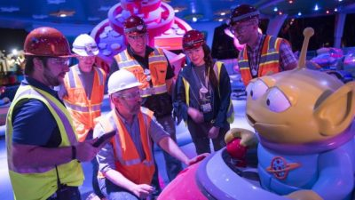 Bringing Toy Story Land To Life at Night