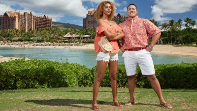 Moana-Inspired Attire at Aulani, Disney Vacation Club Villas