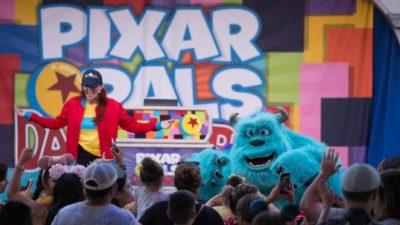 Pixar Pals Dance Party During Pixar Fest at Disneyland