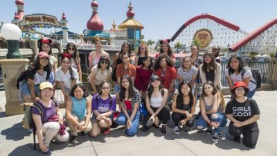 Disneyland Resort Welcomes 'Girls Who Code' to Experience the Magic