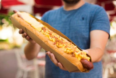 National Hot Dog Day Brings 2 Foot 2 Topping Dog To Magic Kingdom