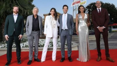 'Ant-Man and The Wasp' Disneyland Paris European Premiere