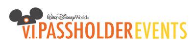Walt Disney World Announces V.I.Passholder Events