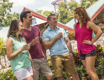 Complimentary Beer Extended at Busch Gardens Tampa