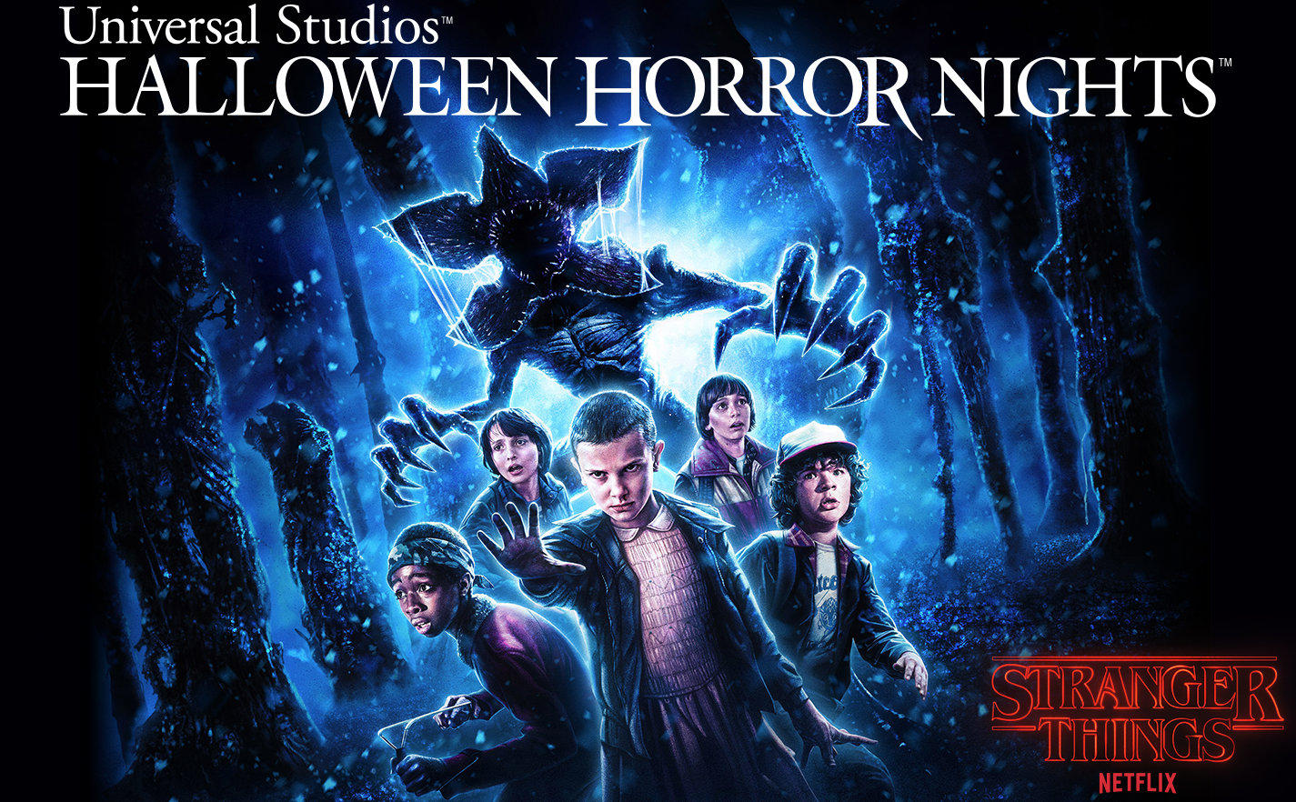 "Exclusive First Look Image of New ""Stranger Things"" Halloween Horror Nights Maze Based on the Critic"