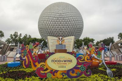 Epcot International Food and Wine Festival Kiosks Menus