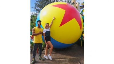 'Marvel's Cloak & Dagger' Stars Olivia Holt and Aubrey Joseph Explore Walt Disney World