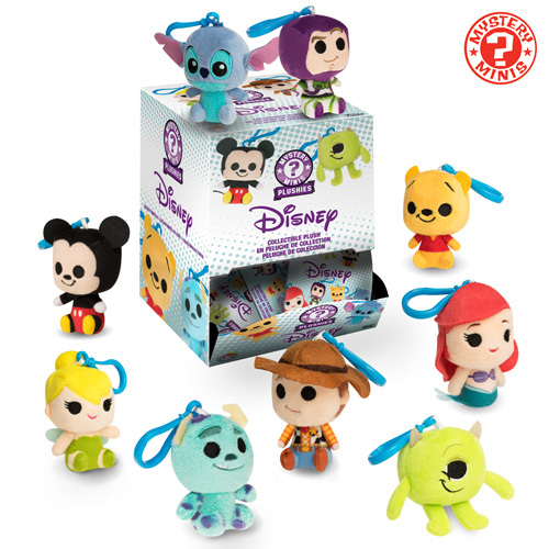 Disney and Pixar Blind Bag Keychain Plush Coming Soon