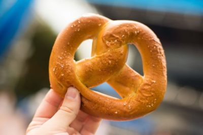 Stuffed Pretzels are Back at Walt Disney World
