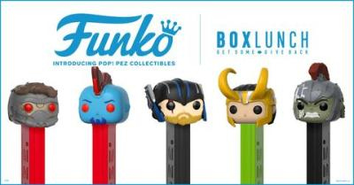 Marvel Pop! Pez Event at BoxLunch Irvine Spectrum August 25