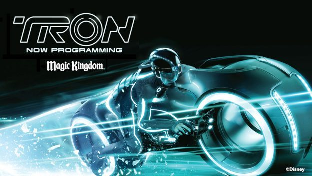 Tron Attraction Update Now Loading…