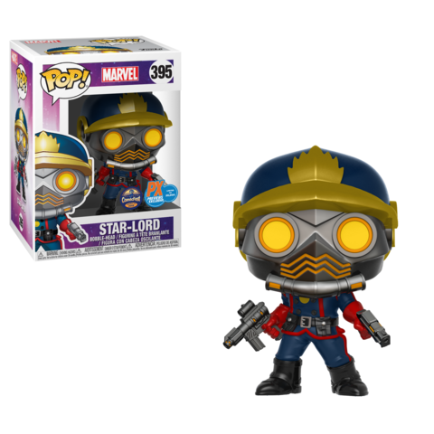 Exclusive Star-Lord & Rocket Pop!