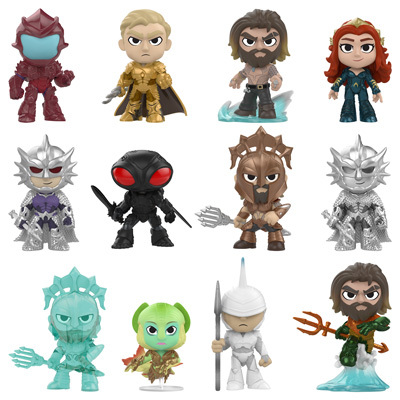 Aquaman Mystery Minis, Keychains and Pop! Coming Soon