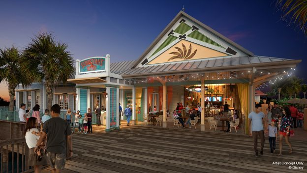 New Dining Locations at Disney's Caribbean Beach Resort