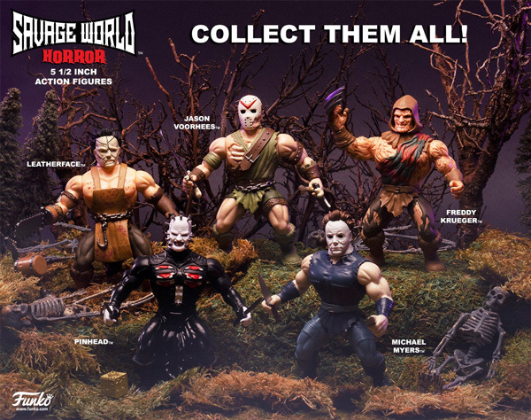 Horror Savage World Figures Coming Soon