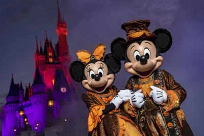 Mickey's Not-So-Scary Halloween Party Kicks Off at Magic Kingdom Tonight