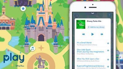 Songs of Disney with Play Disney Parks App