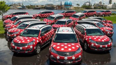 Minnie Vans Now Available for Travel From Orlando International Airport To & From Walt Disney World