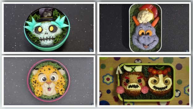 Artist Mike Kravanis Creating Bento Box Magic at Epcot International Food & Wine Festival