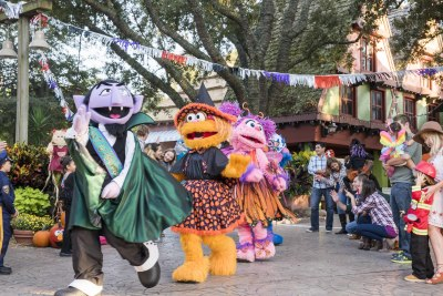 All-New Stage Show Heralds The Return of Sesame Street Safari of Fun Kids' Weekends to Busch Gardens