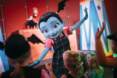 Vampirina Makes Her Debut at Mickey's Not-So-Scary Halloween Party