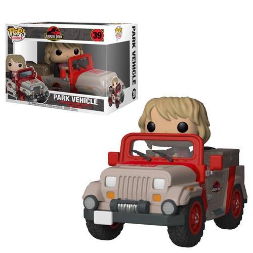 Jurassic Park Park Vehicle Pop Coming Soon