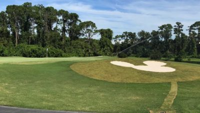 New Mickey-Shaped Bunkers at Walt Disney World Resort Golf Courses