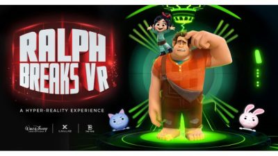New Hyper-Reality Experiences to be Set in Disney Universes; 'Ralph Breaks VR' Debuts Fall 2018