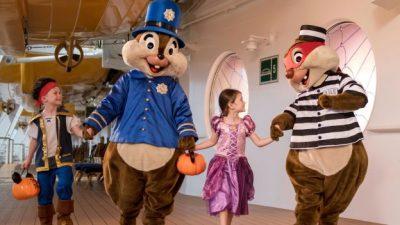 Halloween on the High Seas Is in Full Swing Aboard All Disney Ships