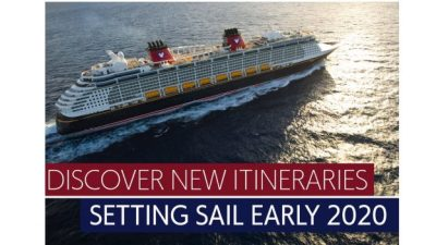 Disney Cruise Line Reveals Early 2020 Sailings