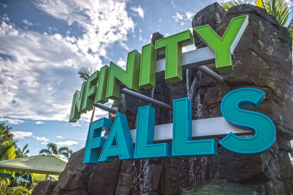 Infinity Falls Grand Opening October 4th at SeaWorld Orlando