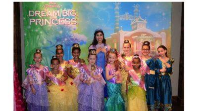 Young Princesses 'Dream Big' at Disney Springs
