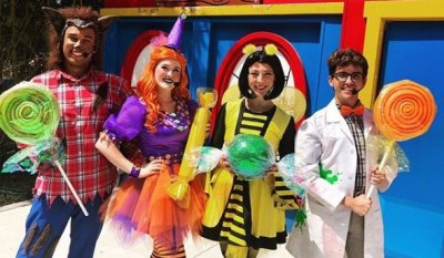 New Show 'A Candy-Coated Curse' Weekends in October at LEGOLAND Florida