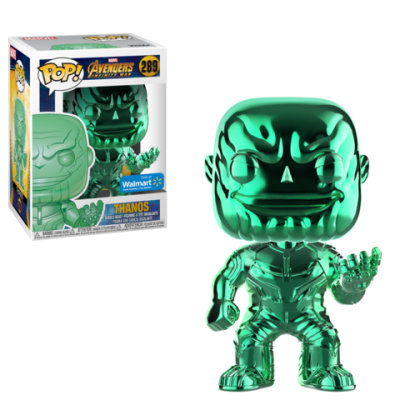 Coming Soon Chrome Thanos Walmart Exclusives Funko Pop!